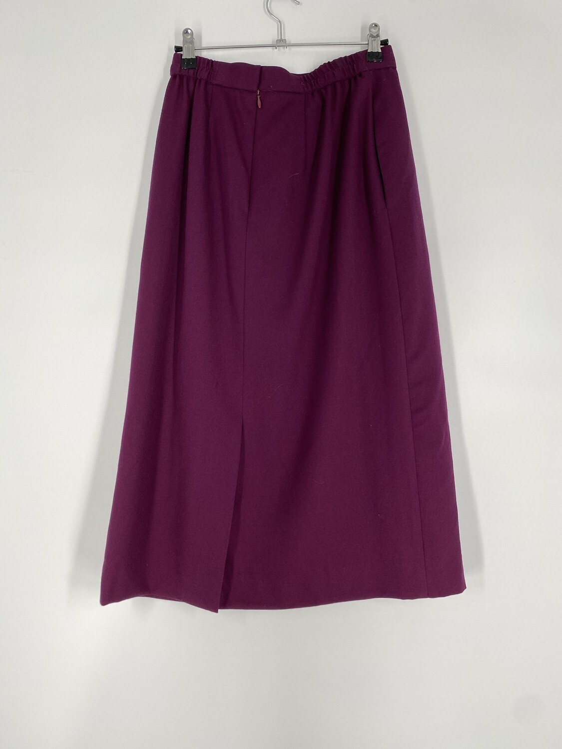 David Brooks Burgundy Skirt Size S