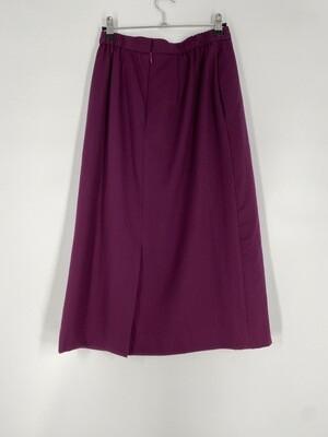 David Brooks Burgundy Skirt Size S