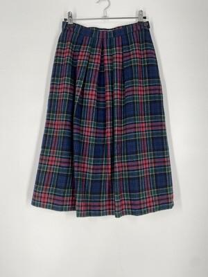 Authentic Allison Tartan Plaid Skirt Size M