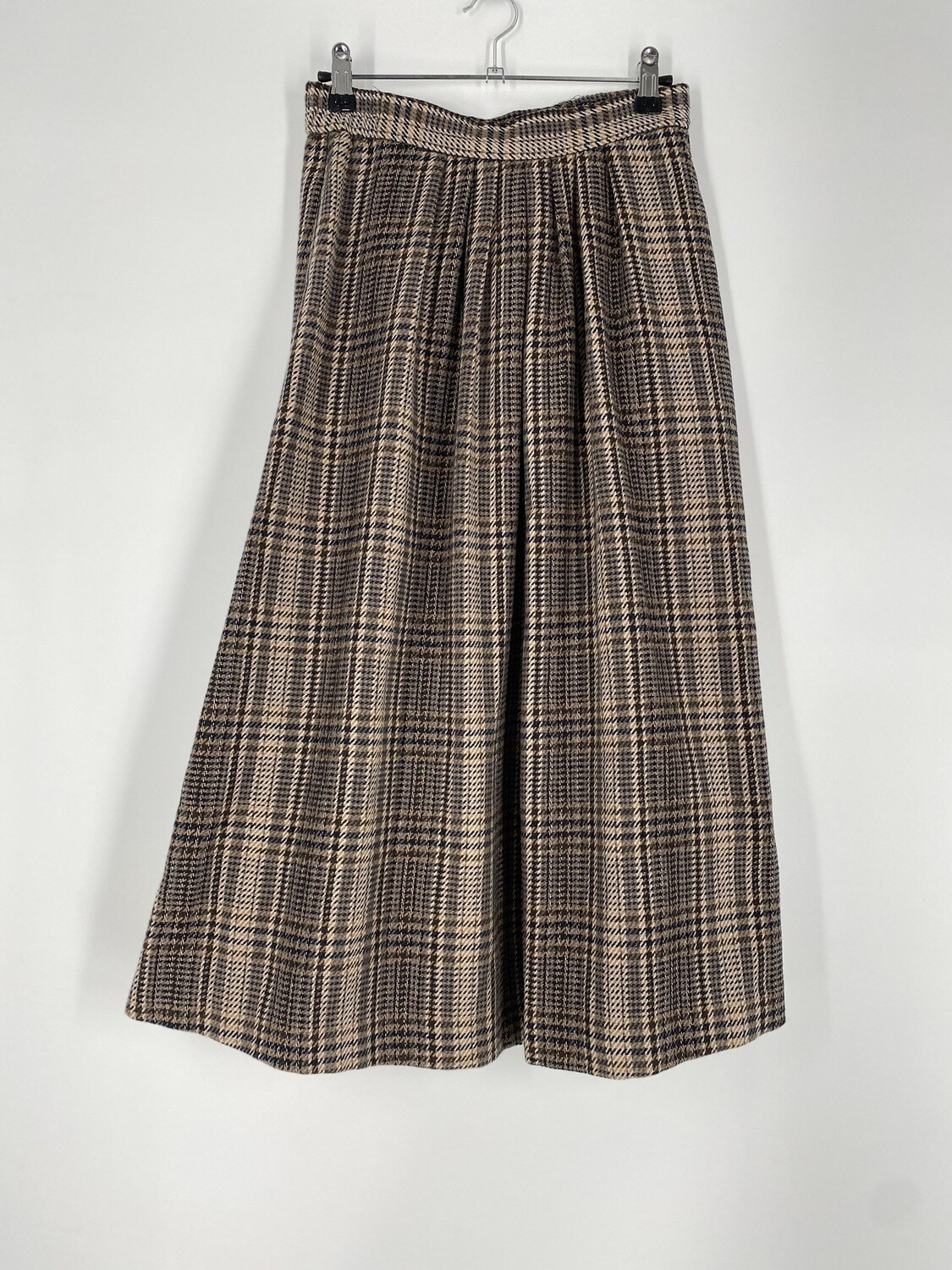 Career Editions Plaid Skirt Size M