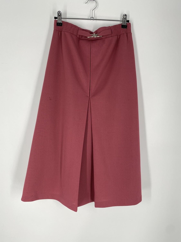 Dark Salmon Skirt Size M