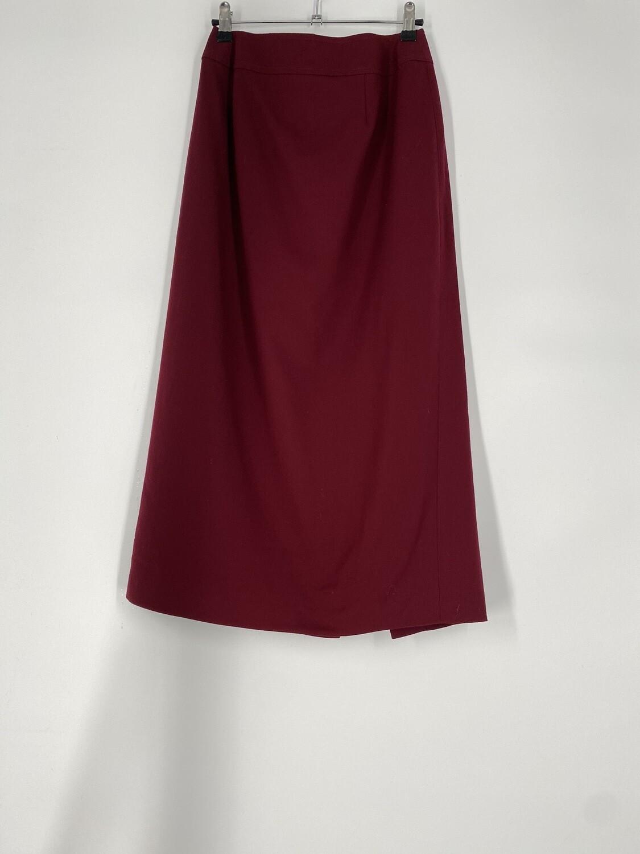 Talbots Burgundy Skirt Size S