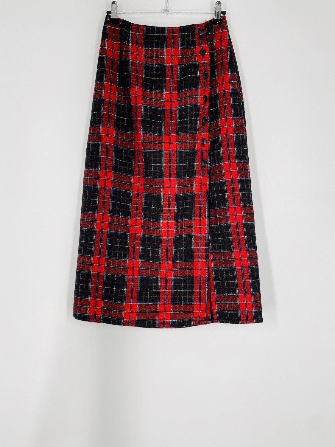Ultra Pink Plaid Skirt Size S