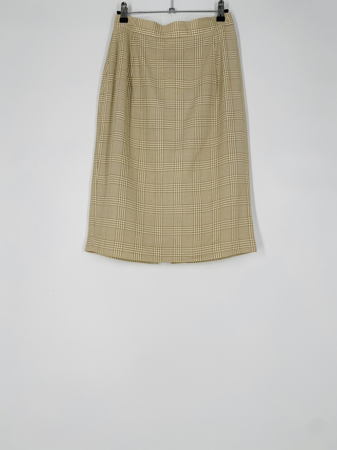 David N Plaid Skirt Size S