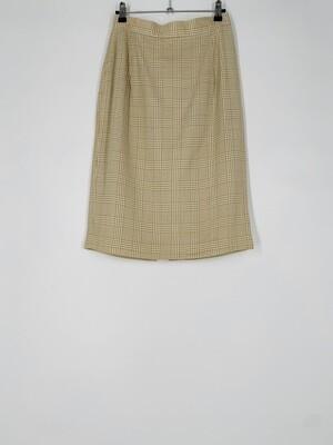 David N Plaid Skirt Size S