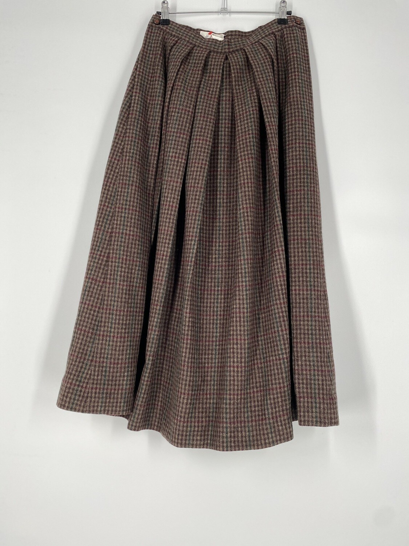Mark Cross Plaid Skirt Size M