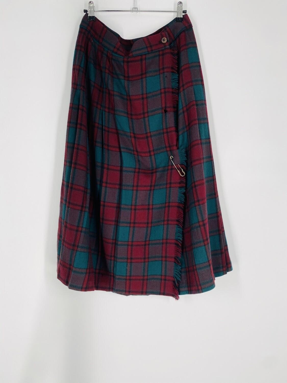 Charter Club Plaid Skirt Size M