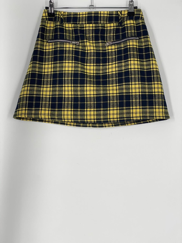 Seek The Label Plaid Skirt Size S
