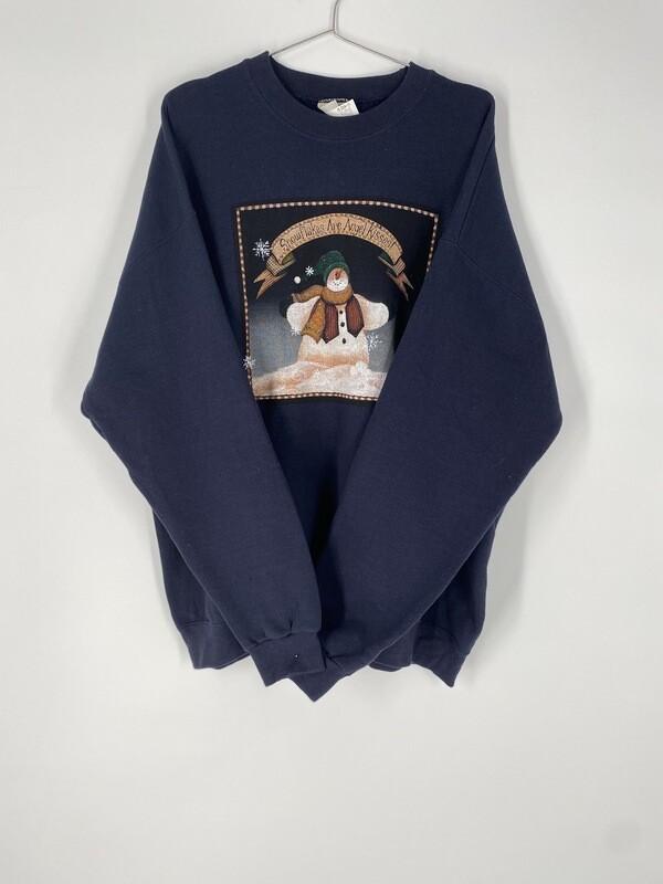 Lee Holiday Sweatshirt Size L