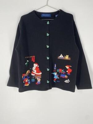 Karen Scott Holiday Sweatshirt Size L
