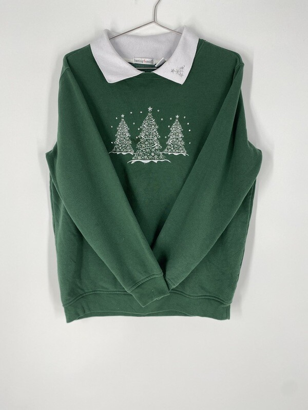 Green Holiday Sweater Size S