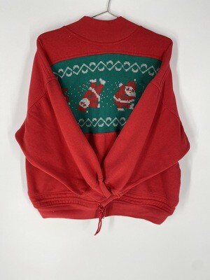 Red Holiday Sweatshirt Size S