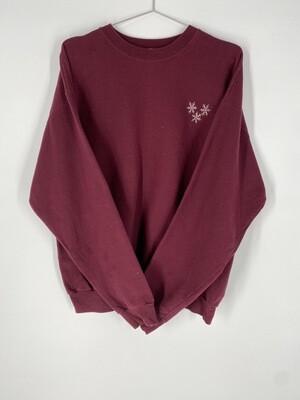 Maroon Holiday Sweatshirt Size L