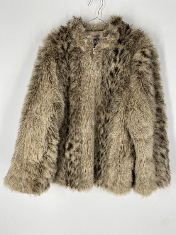 Monterey In The USA Faux Fur Jacket Size S