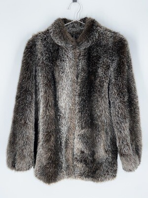 Hilmoor New York Faux Fur Jacket Size S