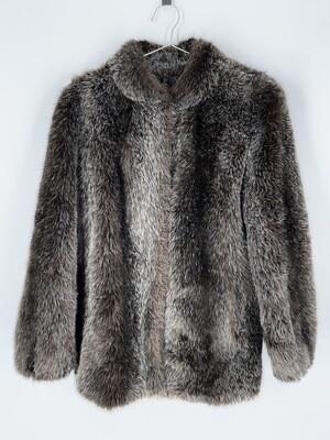 Hilmoor New York Faux Fur Jacket Size S