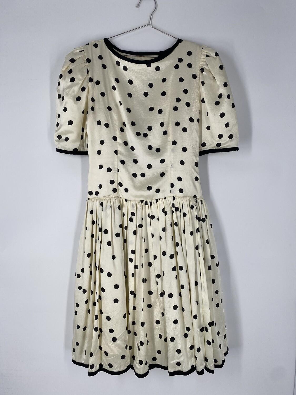 Positively Ellen Polka Dot Dress Size M
