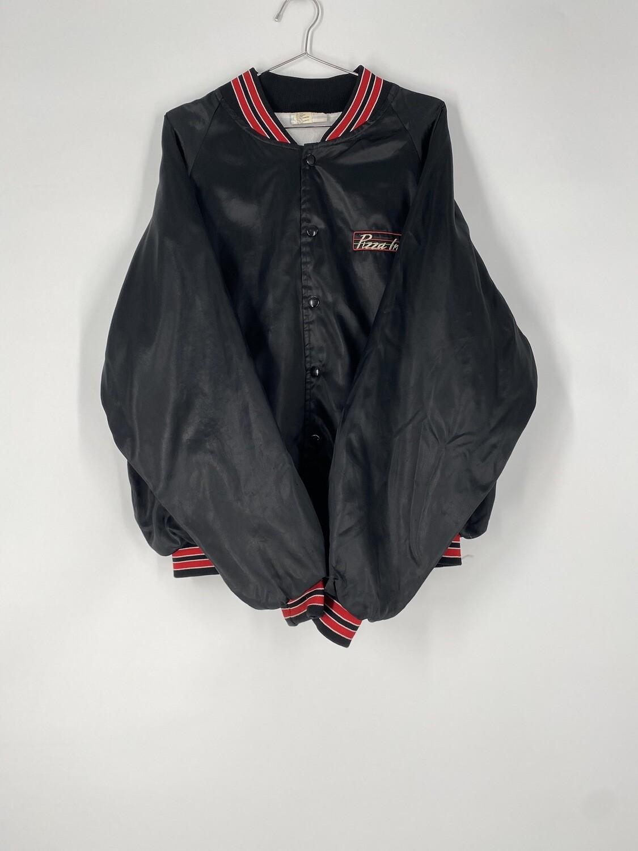 Pizza Inn Black Lightweight Jacket Size L