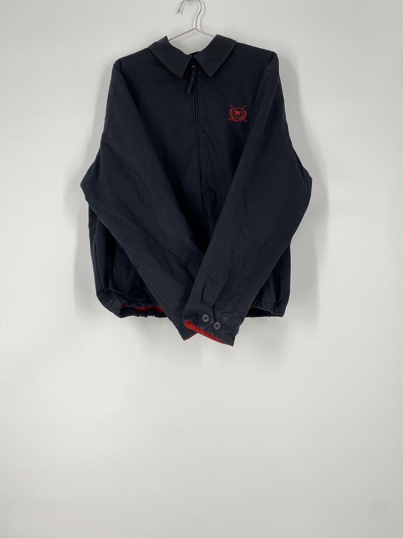THRE3 Black Lightweight Jacket Size L