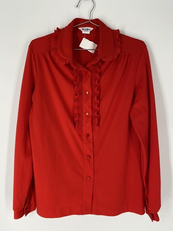 Mardi Modes New York Button-Up Blouse Size L