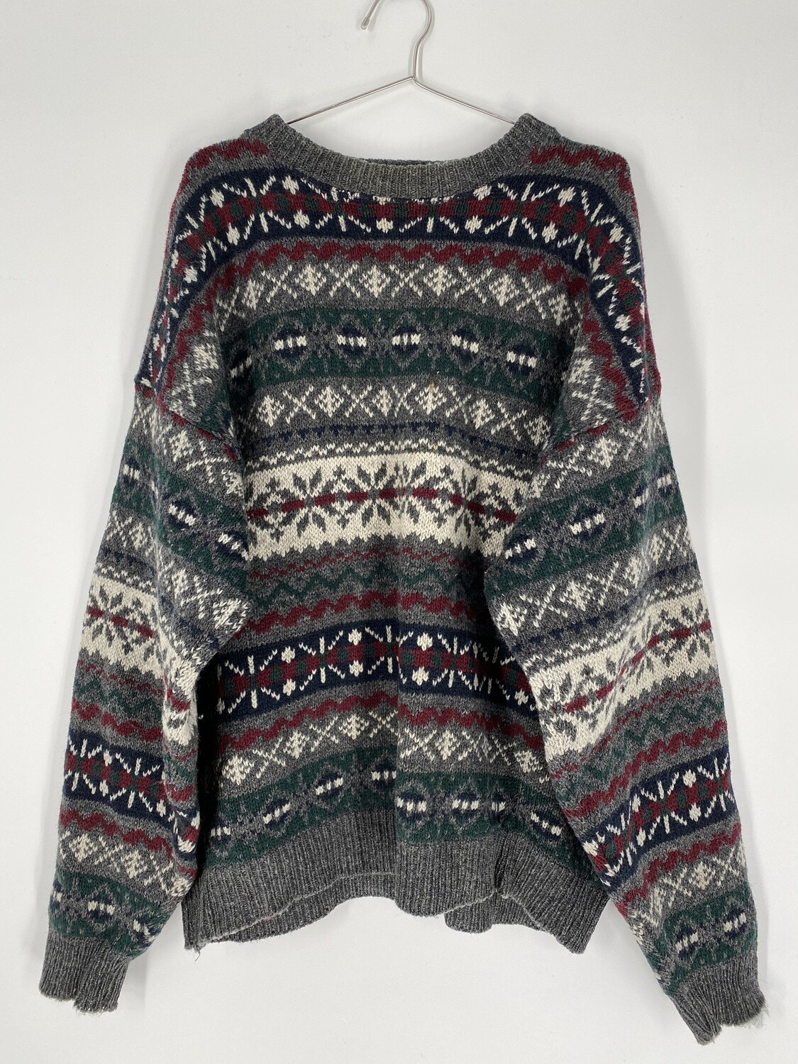 Woolrich Patterned Sweater Size L