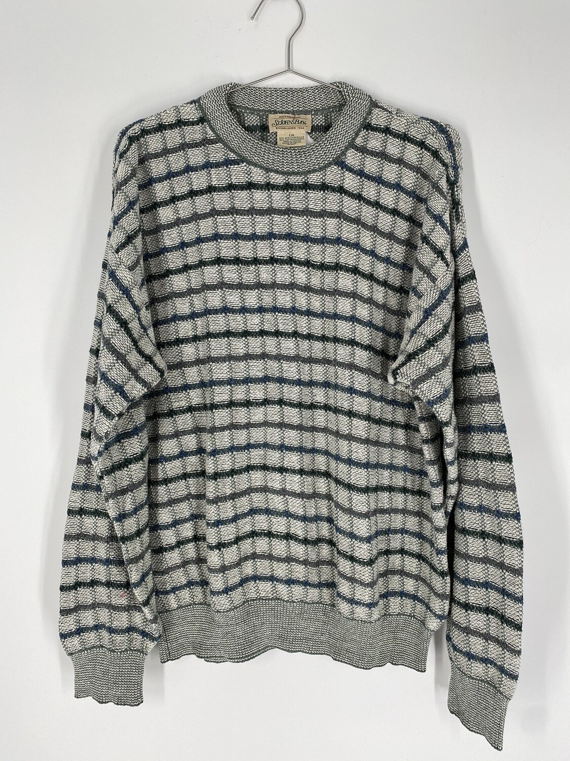Checkered Sweater Size L