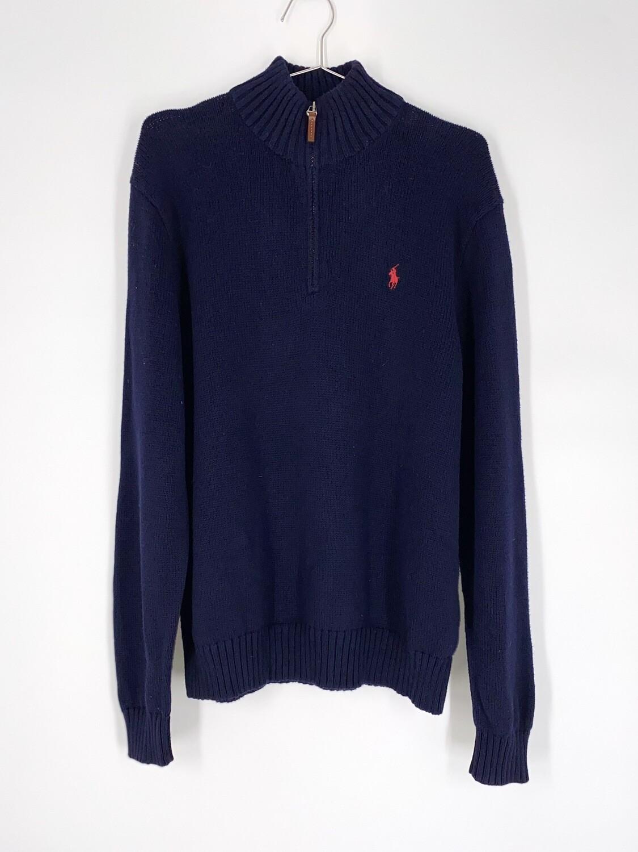 Polo Ralph Lauren Quarter Zip Sweater Size L