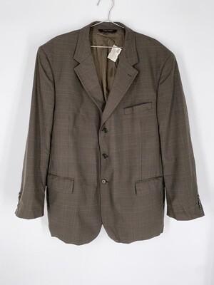 JoS. A. Bank Brown Plaid Blazer Size L