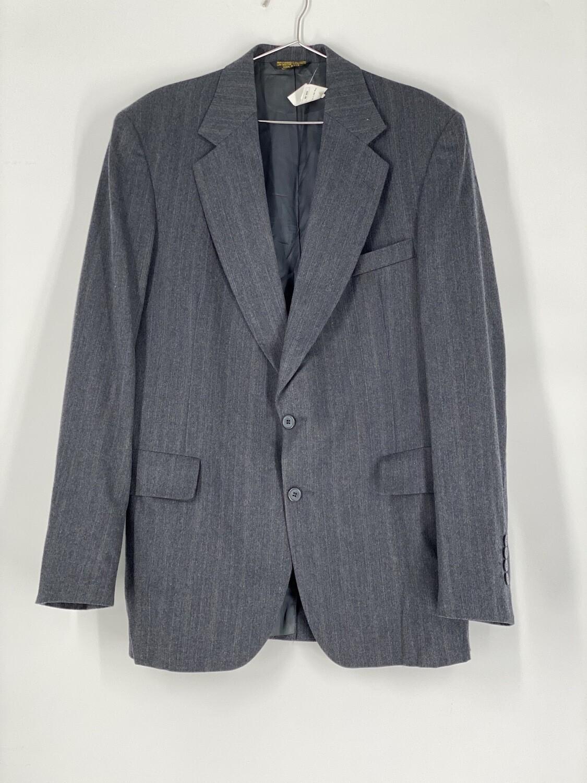 Strathmore Grey Wool Blazer Size L