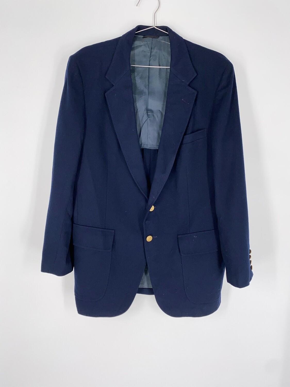 Shapiro's Navy Blue Blazer Size M