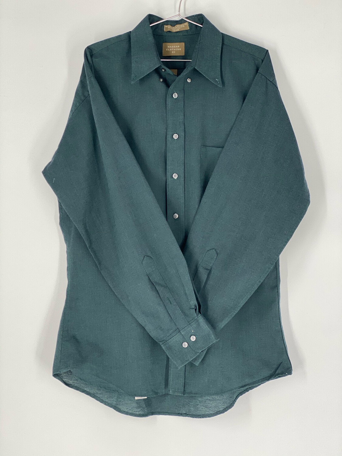 Haggar Clothing Button Down Size 16