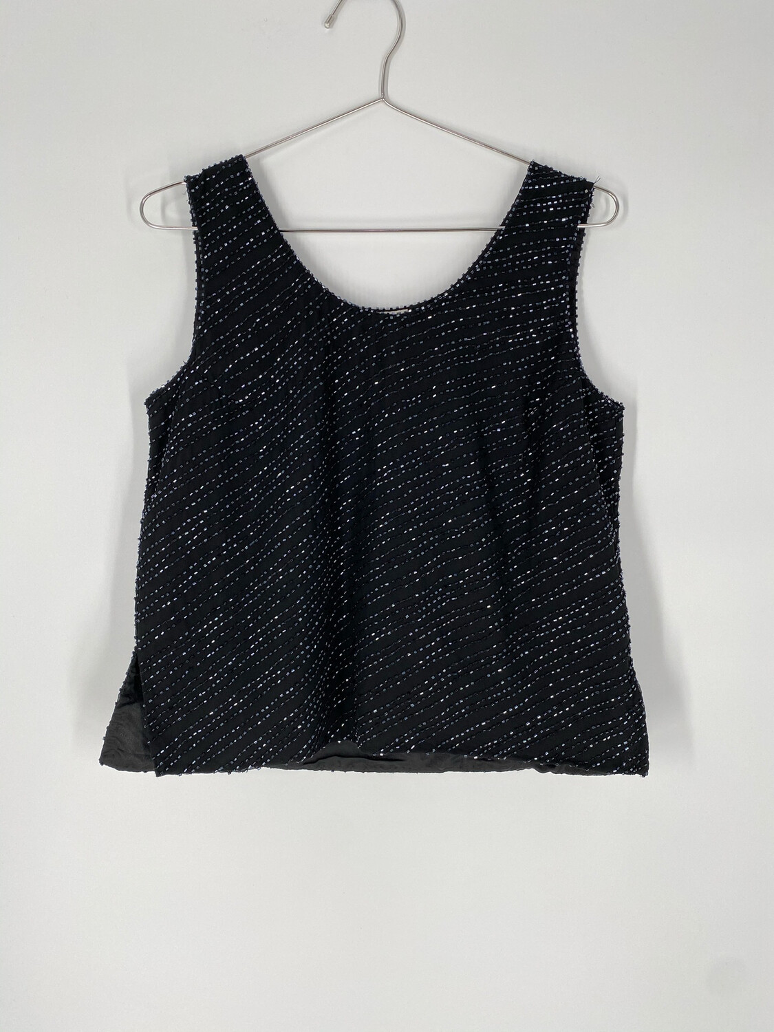 Beaded Sparkly Tank Top Size S