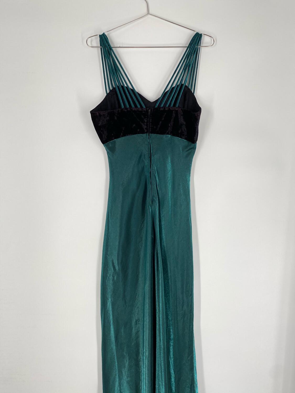 All That Jazz Green Dress Size L