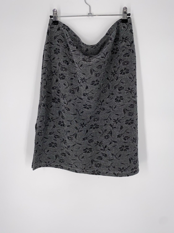 PS Grey Sparkled Skirt Size L