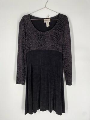 SL Petites Black Dress Size M