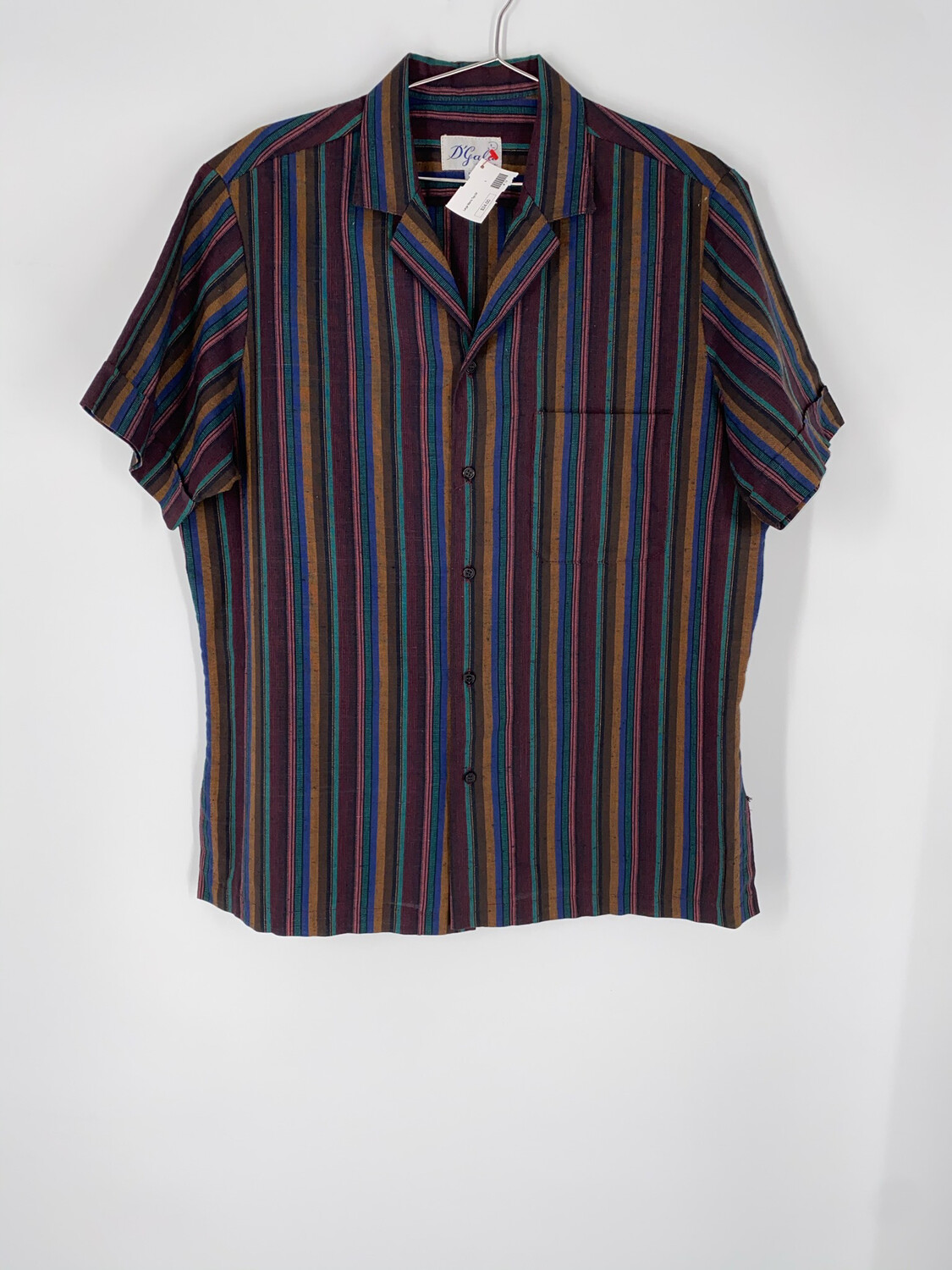 D'Gala Button Up Size Large