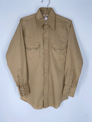 Dee Cree Brand Authentic Western Wear Button Up Size Medium