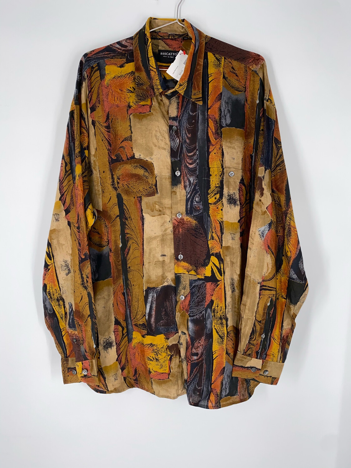 Riscatto Button Up Size XL
