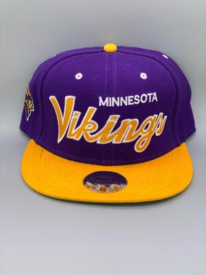 Vintage Minnesota Vikings SnapBack
