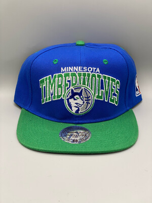 Retro Minnesota Timberwolves SnapBack