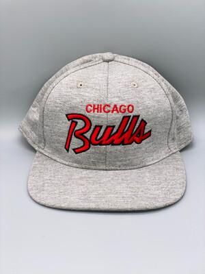 Grey Jersey Chicago Bulls Cap