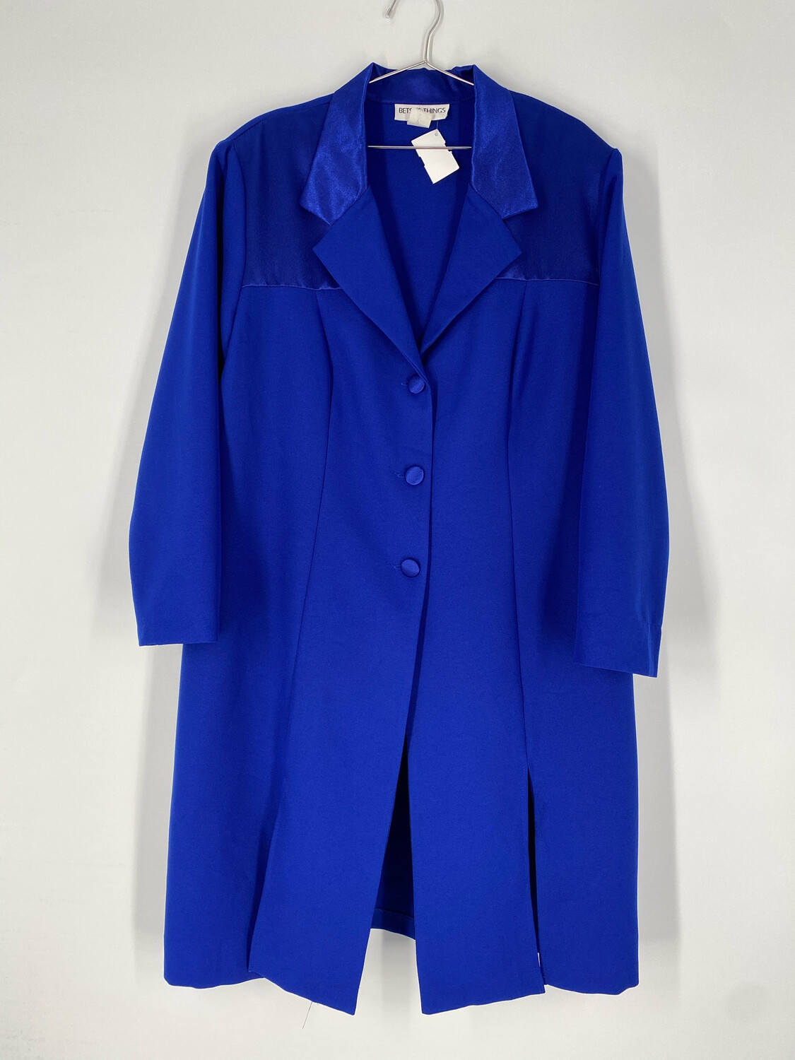 Betsy's Things Blazer Dress With Front Slits Size L