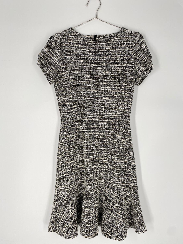 Aqua Tweed Dress Size S