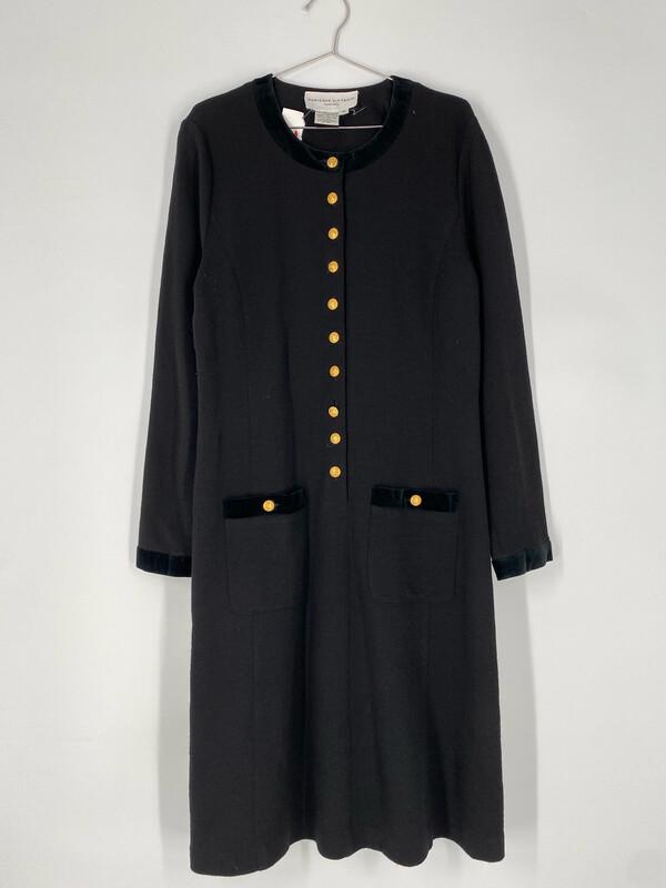 Adrienne Vittadini Long Sleeve Dress Size L