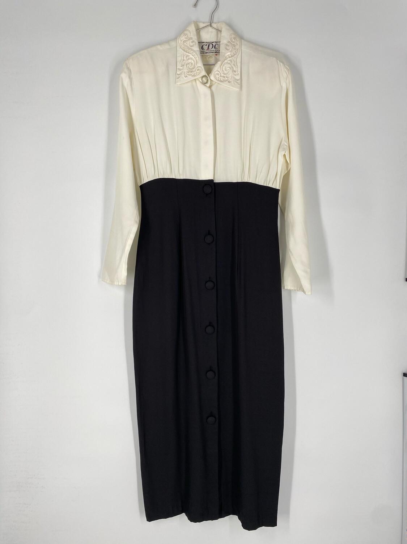 Caren Desiree & Co. Button-Up Dress Size M