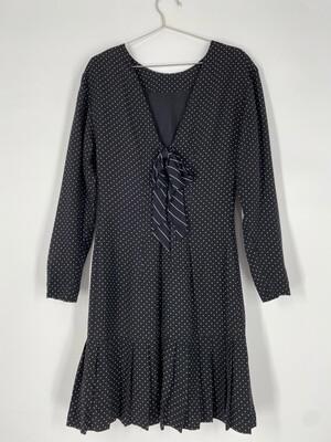 Donna Ricco New York Polka Dot Dress Size S