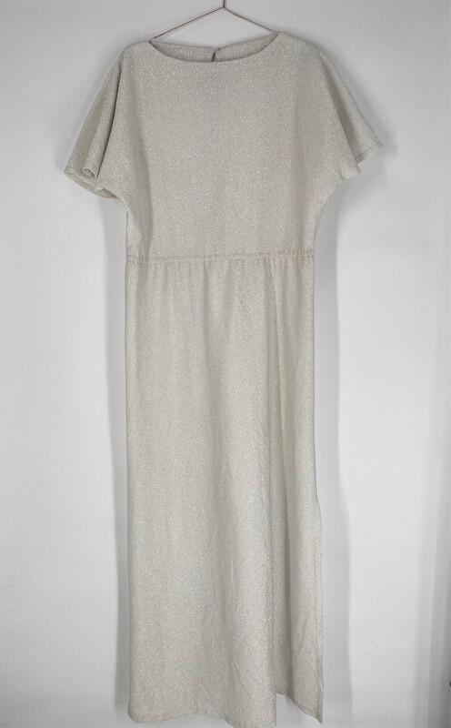 Grey Sparkle Dress Size L