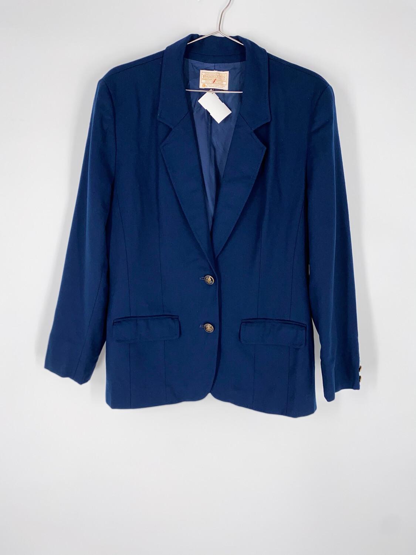 Pendleton Navy Blue Blazer Size Medium