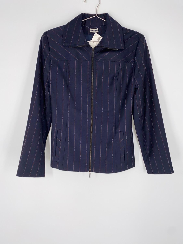 Anna Babehko Striped Blazer Size Small
