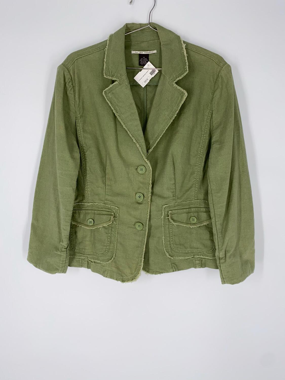 For The Republic Green Blazer Size Small